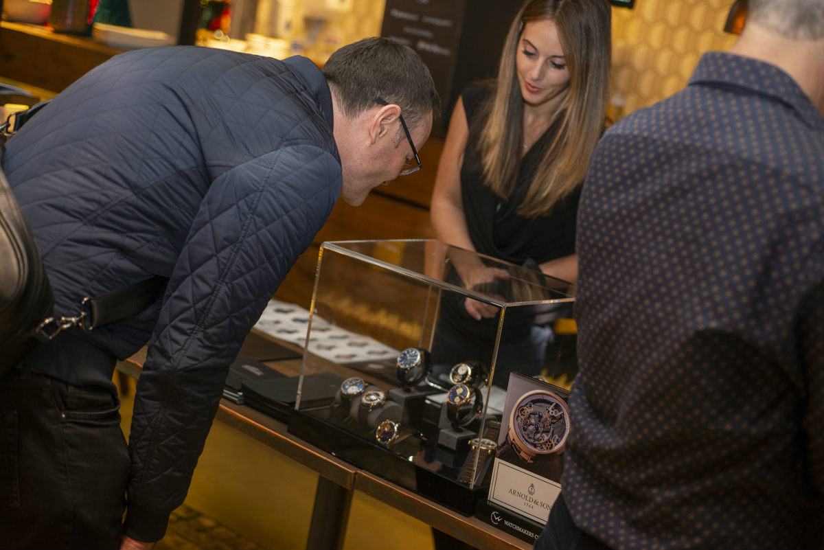 Arnold & Son at the Watchmakers Club event