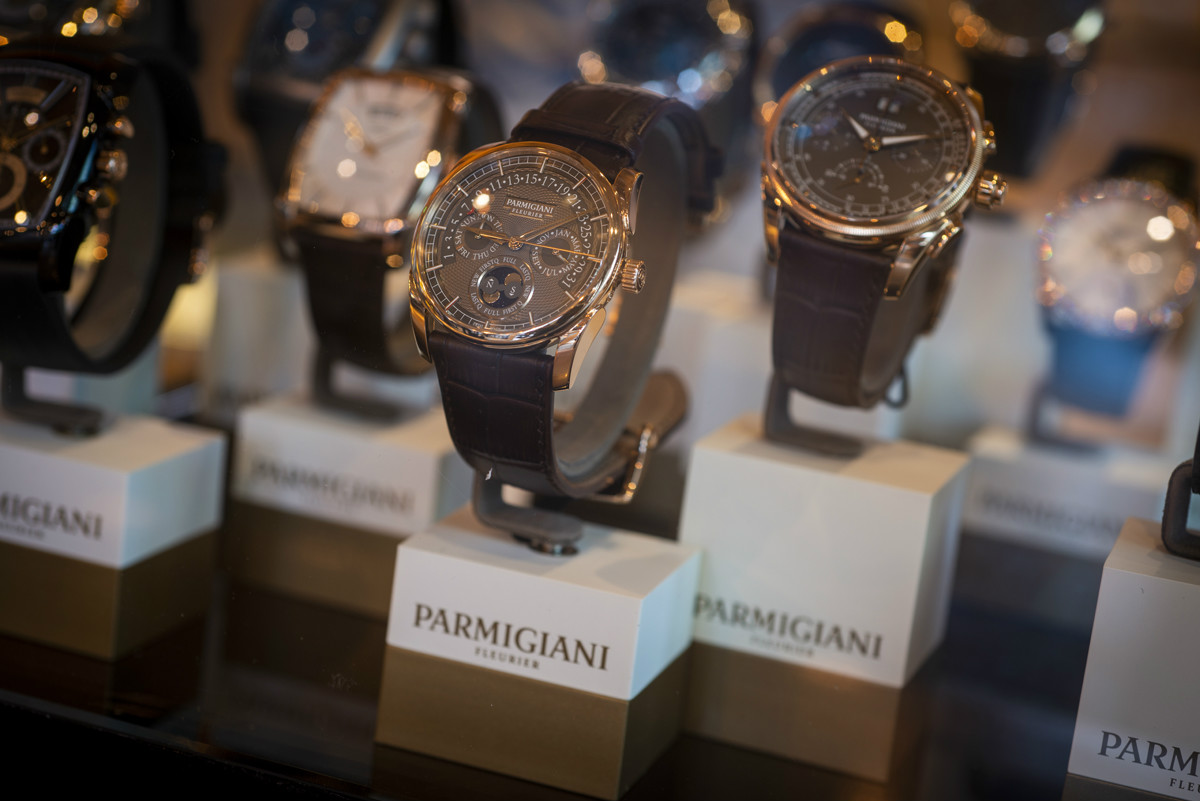 Parmigianni at the Watchmakers Club event