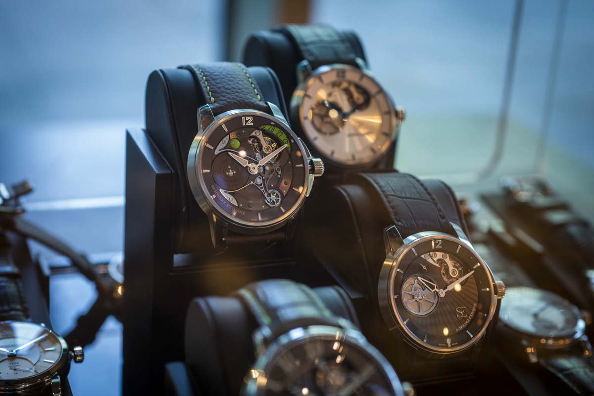 Shwarz Etienne at the Watchmakers Club