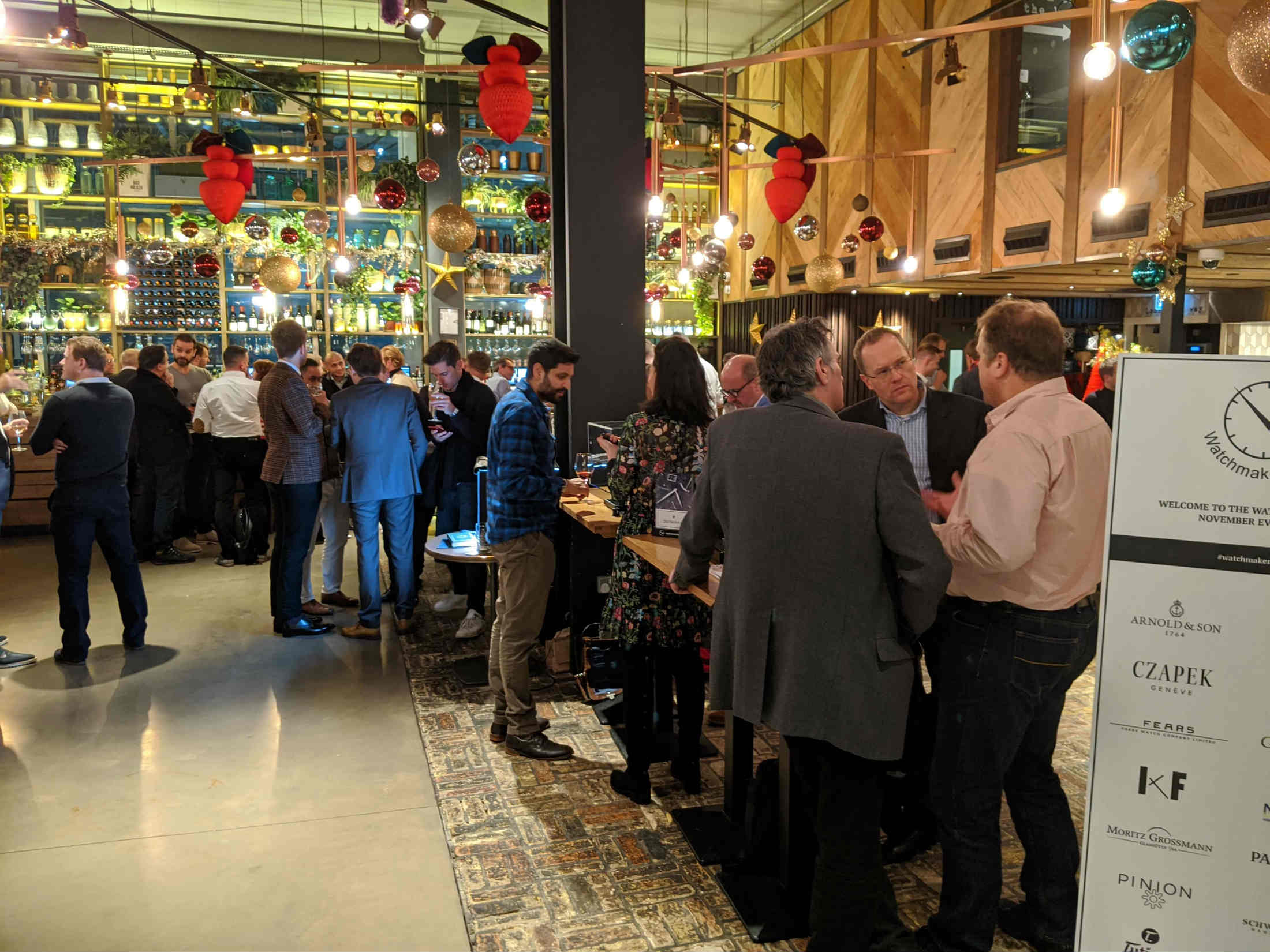 The Watchmakers Club event